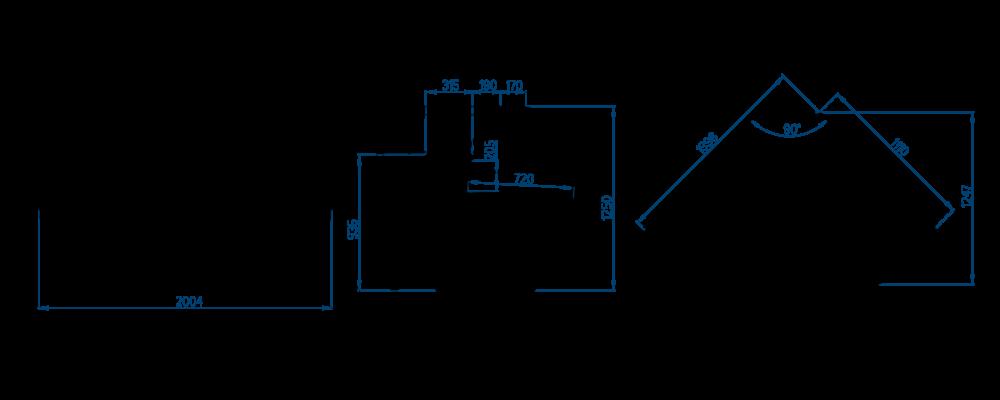Схема холодильной витрины РОСС Belluno-УН