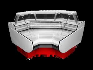 Угловой внутренний элемент витрины РОСС Belluno-УВ
