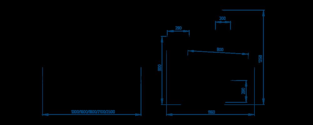 Схема холодильной витрины Savona