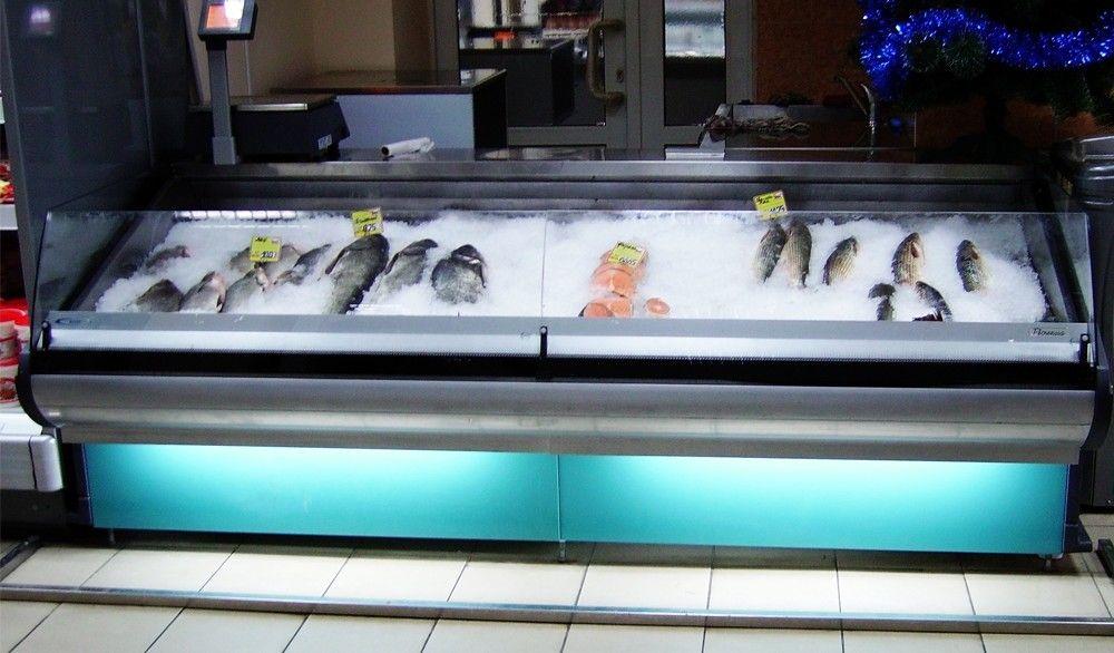 Холодильная витрина Florenzia рыба-на-льду
