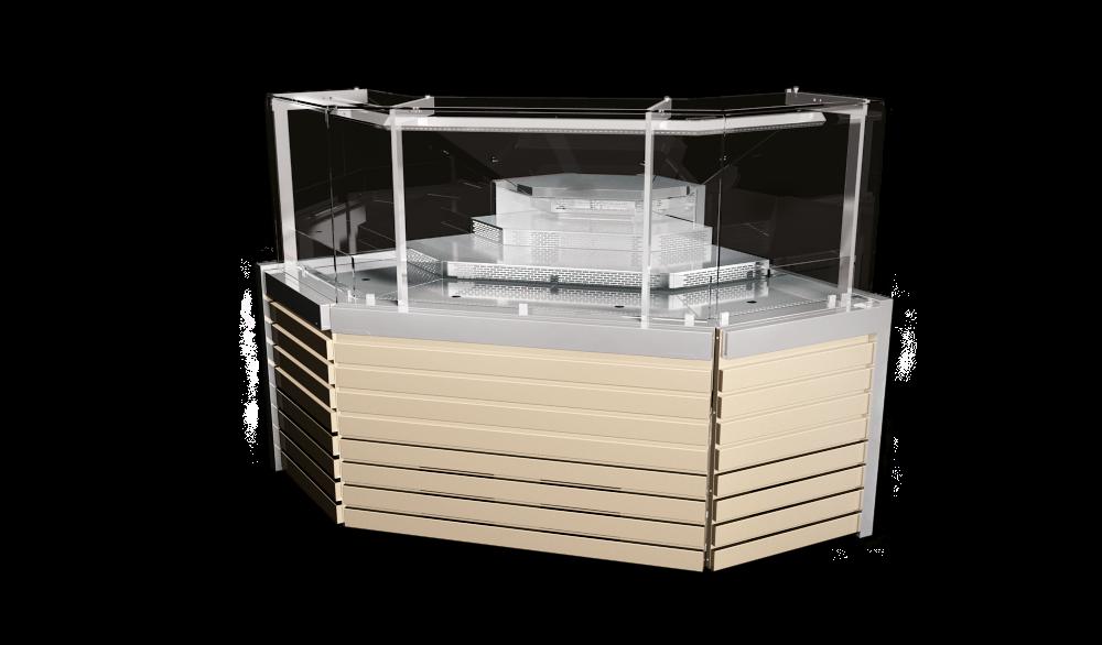 Наружный угловой элемент витрин Savona Cube