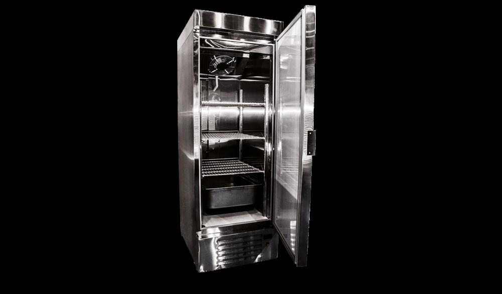 Холодильный шкаф глухой Torino-500 из нержавейки