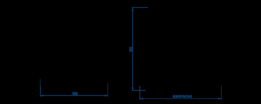 Ларь со стеклянной раздвижной крышкой (пластиковая рамка)