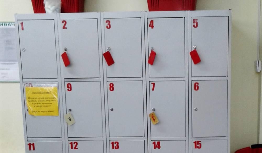 Шкаф РОСС с ячейками